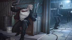 Hitman &#8211; Absolution Artwork Of Patrick Brown &#8211; Hiding Behind The Box